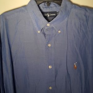 Men's y a r m o u t h Ralph Lauren Oxford Polo shi